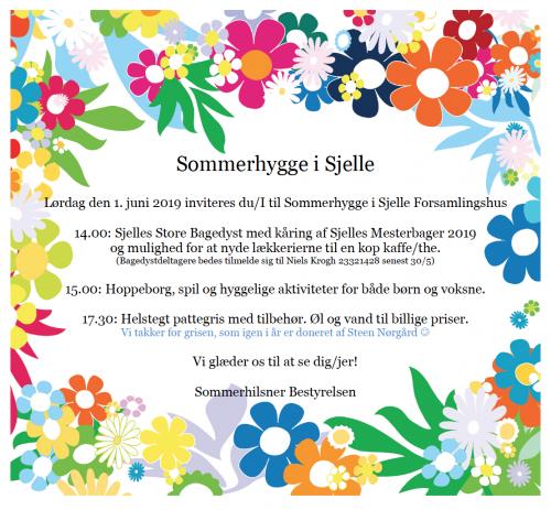 Sommerhygge @ Sjelle Forsamlingshus | Galten | Danmark