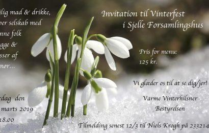 Vinterfest i Sjelle Forsamlingshus