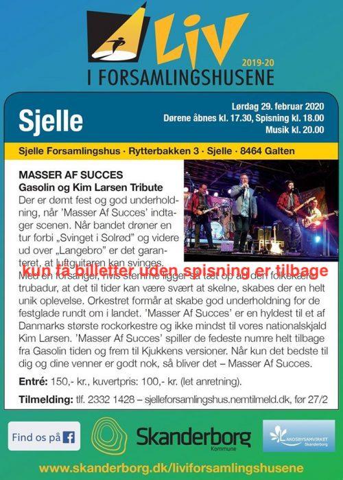 Liv i Forsamlingshusene, Masser af Succes @ Sjelle Forsamlingshus