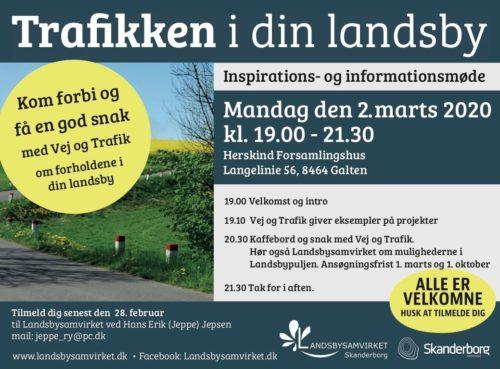 Trafikken i din Landsby @ Herskind Forsamlingshus