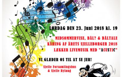 Sankthans Bål og fest i Sjelle 2018