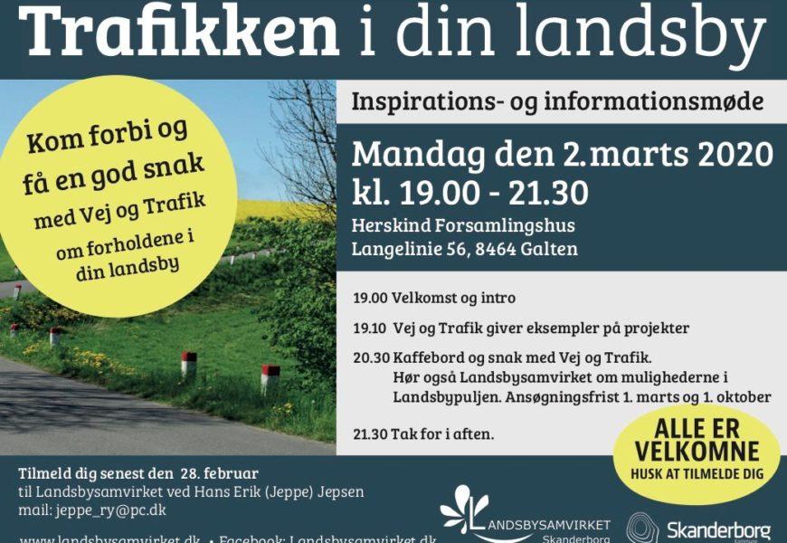 Trafik i din Landsby