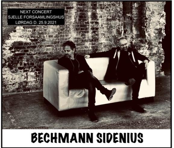 Koncert med Bechmann og Sidenius 25. september i Sjelle Forsamlingshus